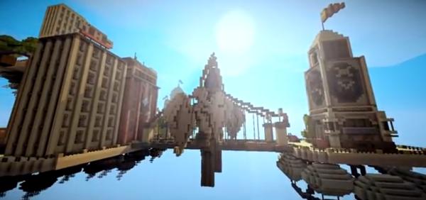 minecraft bioshock map download
