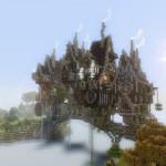Minecraft Steampunk | A Minecraft Steampunk Town Download