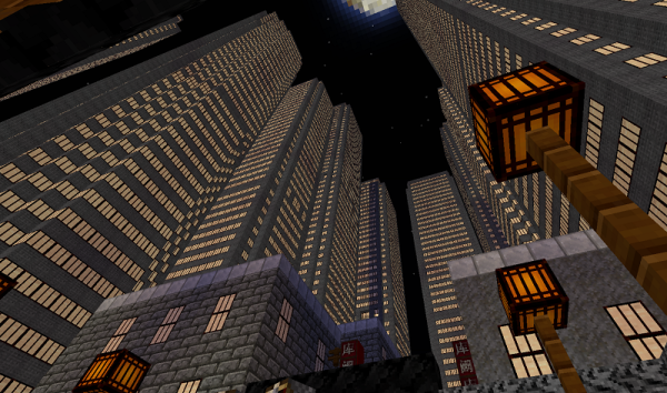 minecraft chinese industrial district