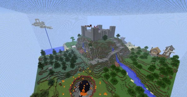 minecraft cubes of adventure map download