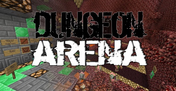 minecraft dungeon arena map download