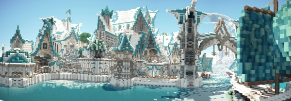 minecraft fantasy city download