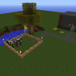 Farming Platform, Minecraft Farm Survival Map Download