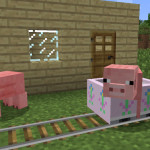 The Floral Minecart (GirlyCraft Minecraft Textures)