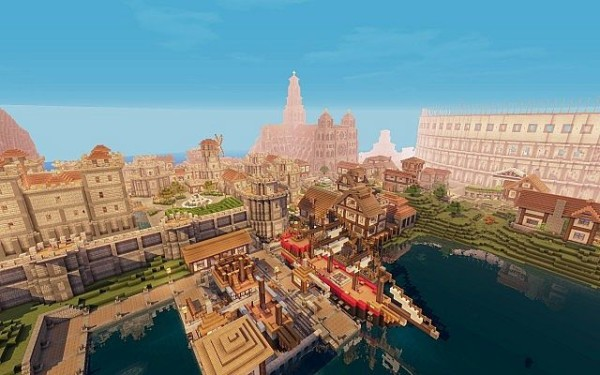 minecraft full fantasy world download