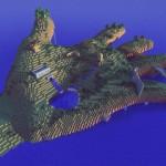 Minecraft Giant Hand Island