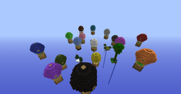 minecraft hot air balloon survival map download