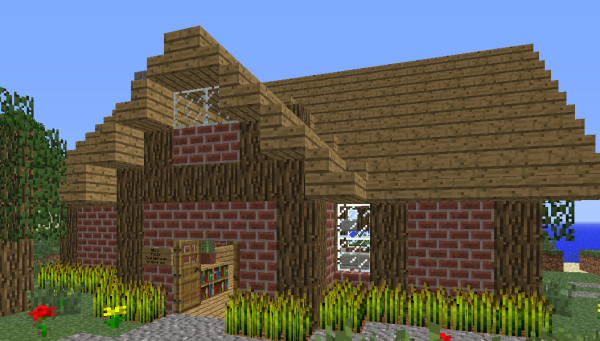minecraft house of wheat
