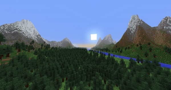 minecraft large geography map download