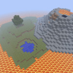 The Forgotten Age, Minecraft Lava Island Survival Map Download