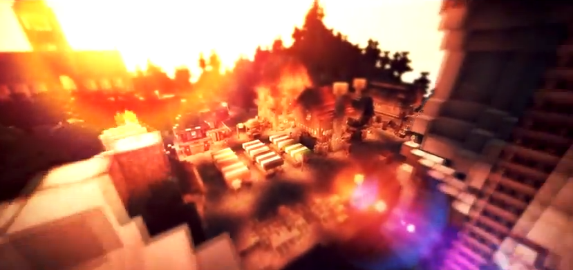 minecraft lens flare