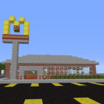 Left 4 Dead: McDonalds Minecraft Zombie Survival Map