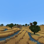 Medieval Wheat Farm Custom Map Download | Skryim Inspired Minecraft Map