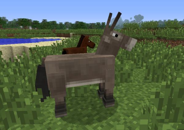 minecraft mule