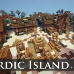 Minecraft Nordic Island | Evoking Skyrim In Minecraft