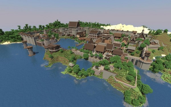 Minecraft Old City Download