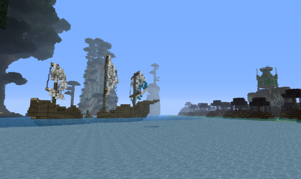 minecraft pirate survival games