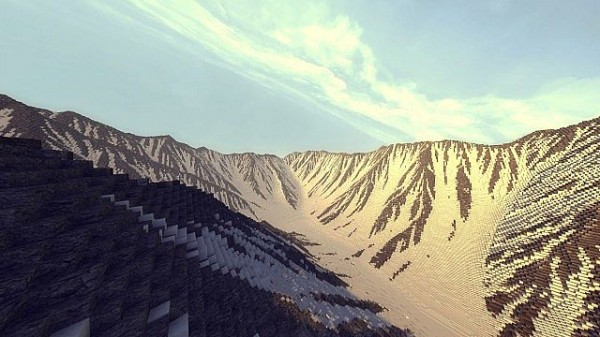 minecraft real mountain ranges download