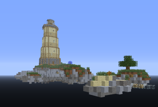 minecraft sky island ctm survival map download