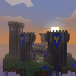 Avalon Sky Island Minecraft Survival Map