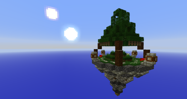 minecraft sky survival shop map download