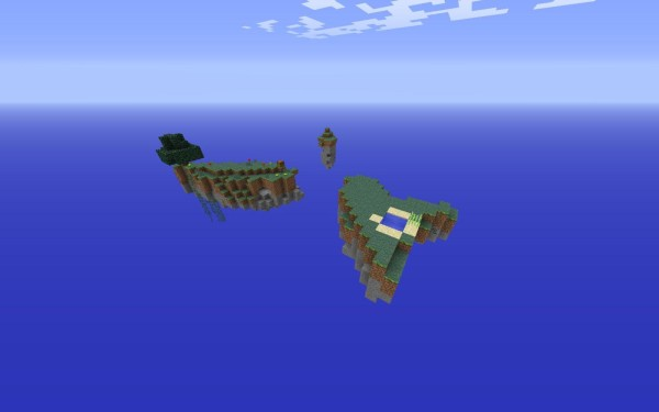 minecraft skylight sky survival map download