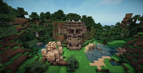 minecraft temple of doom map download