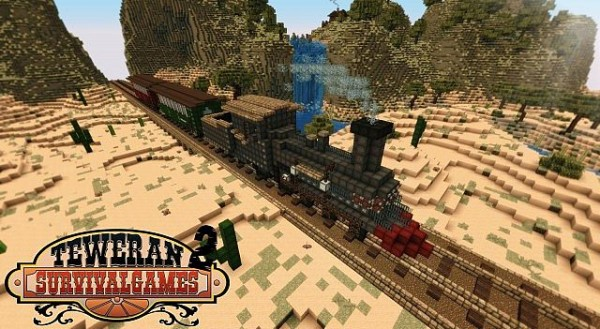 minecraft train map download
