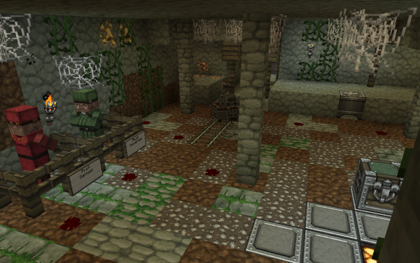 minecraft underground survival map download