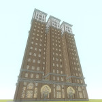 Bored Man Recreates The Vanderbilt Building In Minecraft