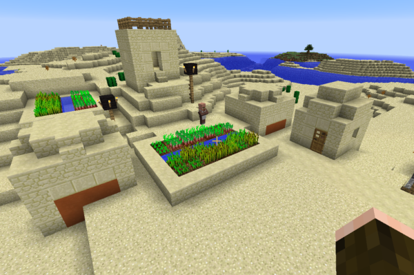 minecraft village map seed 1.10