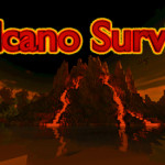 Volcano Survival, Minecraft Survival / Villager Defense Map Download
