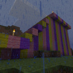 First Taste of Minecraft Rain