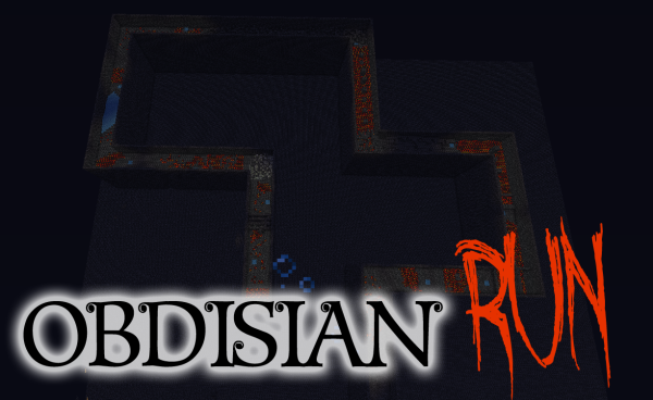 obsidian run minecraft parkour minigame download
