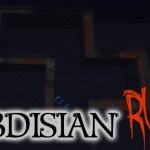 Obsidian Run, Minecraft Parkour Game