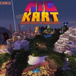 Pig Kart, Mario Kart In Minecraft Mini Game Map Download