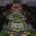 Project Central, Minecraft High School Adventure Survival Map Download