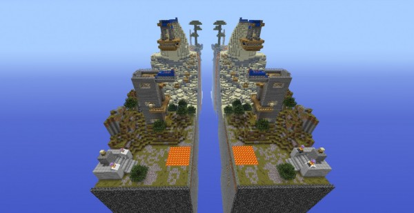 race for the wool minecraft map