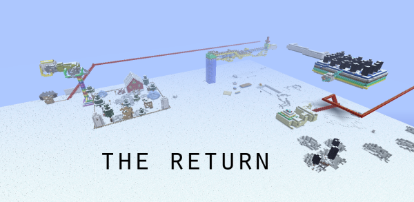 return minecraft adventure puzzle map