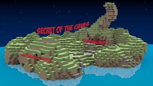 secret of the caves minecraft map