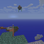 Shatter Sky Island Minecraft Survival Map