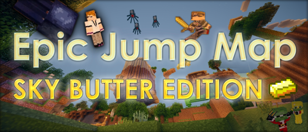 sky butter epic jump minecraft map