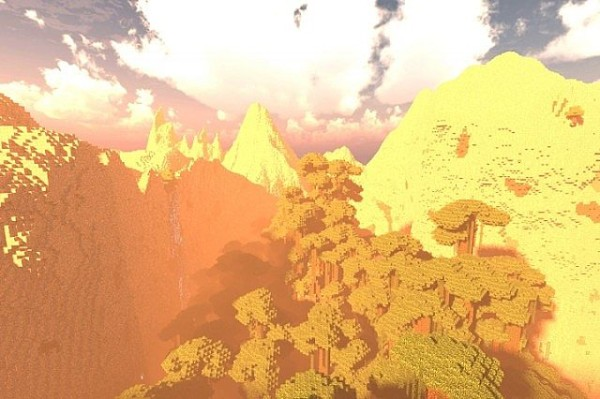 stone shade mountain minecraft map