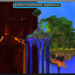 Stratosphere Survival, Island Based Minecraft Adventure / Survival Map Download
