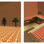Survive Under Lava, Minecraft Survival Map