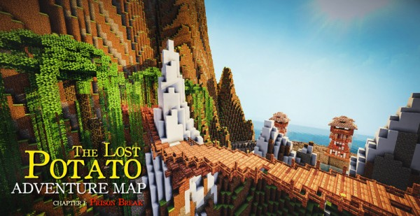 the lost potato mincraft adventure download