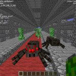 Tunnel Trouble, Minecraft Combat Survival Map Download