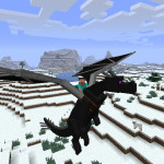 Minecraft Rideable Dragon Mounts