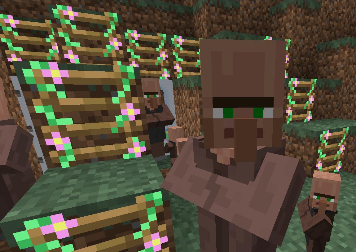 How To Tame Minecraft Villagers  Minecraft Village Friends